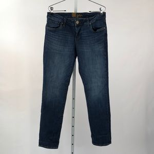Kut from the Kloth Slim Straight Jeans, Size 8